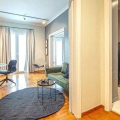 Отель UPSTREET Superb 1BD Apt-Heart of Kolonaki Афины комната для гостей