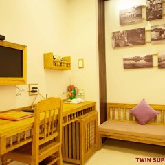 Vinh Hung Library Hotel Хойан комната для гостей фото 3