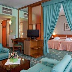 Отель Savoia Thermae & Spa Италия, Абано-Терме - отзывы, цены и фото номеров - забронировать отель Savoia Thermae & Spa онлайн комната для гостей фото 3