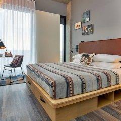 Отель Moxy Columbus Short North США, Колумбус - отзывы, цены и фото номеров - забронировать отель Moxy Columbus Short North онлайн комната для гостей фото 2