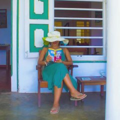 Отель Palm Villa балкон
