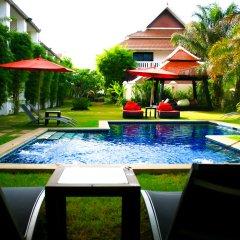 Отель Palm Grove Resort Таиланд, На Чом Тхиан - 1 отзыв об отеле, цены и фото номеров - забронировать отель Palm Grove Resort онлайн бассейн
