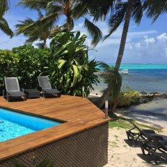 Отель Villa Maharepa Beach by Enjoy Villas Villa 3 пляж