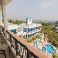 Отель OYO 11899 Home Greek Style 4BHK Penthouse Bambolim Гоа балкон