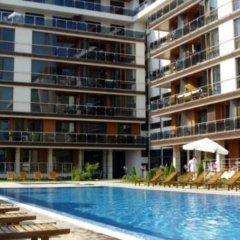 Отель Pomorie Bay Apart Hotel Болгария, Поморие - отзывы, цены и фото номеров - забронировать отель Pomorie Bay Apart Hotel онлайн бассейн фото 2
