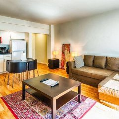 Апартаменты Dupont Circle Apartment комната для гостей фото 5