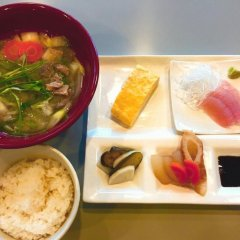 Отель Pals Inn Katsuura Кусимото питание