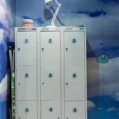 Re:forma Art Hostel сейф в номере