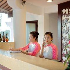 Отель Agribank Hoi An Beach Resort Вьетнам, Хойан - отзывы, цены и фото номеров - забронировать отель Agribank Hoi An Beach Resort онлайн интерьер отеля фото 2