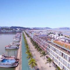 Отель Moon Bay Ha Long балкон