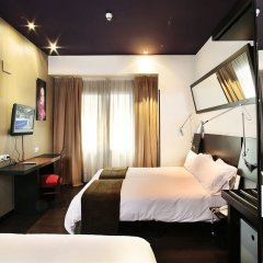 Отель Avenida Gran Via Испания, Мадрид - отзывы, цены и фото номеров - забронировать отель Avenida Gran Via онлайн комната для гостей фото 2