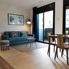 Апартаменты MH Apartments Sant Pau комната для гостей