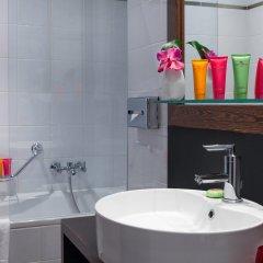 Отель Auteuil Manotel Швейцария, Женева - 1 отзыв об отеле, цены и фото номеров - забронировать отель Auteuil Manotel онлайн ванная фото 2