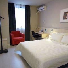 Отель Jinjiang Inn Shenzhen Huanggang Port Китай, Шэньчжэнь - отзывы, цены и фото номеров - забронировать отель Jinjiang Inn Shenzhen Huanggang Port онлайн комната для гостей фото 3