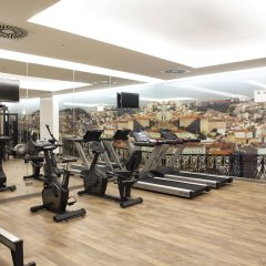 Отель Jupiter Lisboa Hotel Португалия, Лиссабон - отзывы, цены и фото номеров - забронировать отель Jupiter Lisboa Hotel онлайн фитнесс-зал фото 2