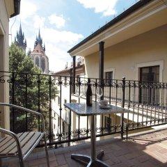 Отель Metamorphis Excellent Чехия, Прага - отзывы, цены и фото номеров - забронировать отель Metamorphis Excellent онлайн балкон