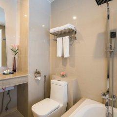 Отель Blue Boat Design Hotel Таиланд, Паттайя - отзывы, цены и фото номеров - забронировать отель Blue Boat Design Hotel онлайн ванная фото 2