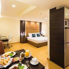 Отель Aspen Suites 4* Стандартный номер фото 12