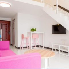 Апартаменты Kaimi Apartment Kesheng Plaza Branch комната для гостей фото 5