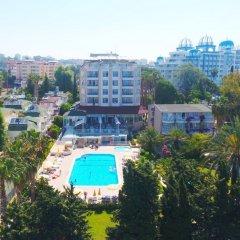 Incekum Su Hotel Турция, Аланья - отзывы, цены и фото номеров - забронировать отель Incekum Su Hotel - All Inclusive онлайн балкон