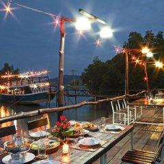 Отель The Villa Laemhin Lagoon Resort питание