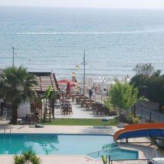 Linda Apart Hotel пляж
