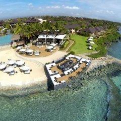Отель Crimson Resort and Spa Mactan Филиппины, Лапу-Лапу - 1 отзыв об отеле, цены и фото номеров - забронировать отель Crimson Resort and Spa Mactan онлайн пляж