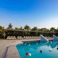 Sunmelia Beach Resort Hotel Сиде бассейн фото 3