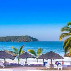 Отель Qualton Club Ixtapa - All Inclusive пляж фото 2