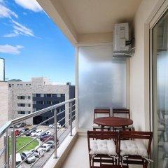 Отель Sarap apartments Budva Черногория, Будва - отзывы, цены и фото номеров - забронировать отель Sarap apartments Budva онлайн балкон