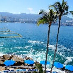 Отель Holiday Inn Resort Acapulco пляж фото 2