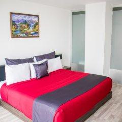 Отель Del Angel Мехико комната для гостей фото 2