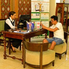 Отель Larsa Hotel Иордания, Амман - отзывы, цены и фото номеров - забронировать отель Larsa Hotel онлайн интерьер отеля фото 2