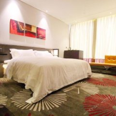 Tian Hai Hotel (Jiujiang Convention and Exhibition Center Sixi) комната для гостей фото 2