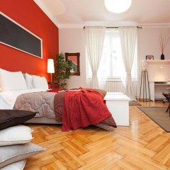 Отель Hostel Bed & Coffee 360° Сербия, Белград - 2 отзыва об отеле, цены и фото номеров - забронировать отель Hostel Bed & Coffee 360° онлайн комната для гостей фото 5
