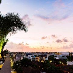 Отель Marquee Playa Hotel Мексика, Плая-дель-Кармен - отзывы, цены и фото номеров - забронировать отель Marquee Playa Hotel онлайн пляж