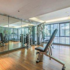 Отель Arcadia Suites Bangkok Бангкок фитнесс-зал фото 4