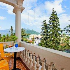 Отель Hoang Ha Sapa Hotel Вьетнам, Шапа - отзывы, цены и фото номеров - забронировать отель Hoang Ha Sapa Hotel онлайн балкон