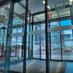 Отель Meininger Hauptbahnhof Берлин банкомат