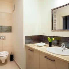 Отель Oxygen Central Apartments Польша, Варшава - отзывы, цены и фото номеров - забронировать отель Oxygen Central Apartments онлайн ванная фото 2