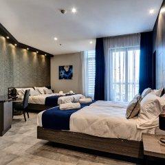 Отель The District Hotel Мальта, Сан Джулианс - 1 отзыв об отеле, цены и фото номеров - забронировать отель The District Hotel онлайн комната для гостей фото 3