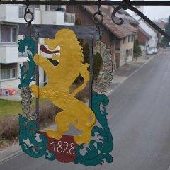 Отель Gasthaus zum Löwen балкон