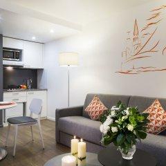 Отель Citadines Presqu'île Lyon комната для гостей фото 5