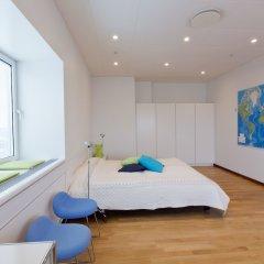 Апартаменты Europahuset Apartments фитнесс-зал