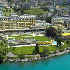 Отель Fairmont Le Montreux Palace пляж