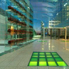 Отель Hilton Munich Airport бассейн