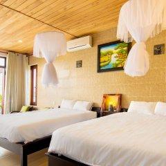 Отель An Bang Seasnail Homestay комната для гостей