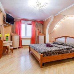 Гостиница Absolut Apartments on Left Bank of Dnipro Украина, Киев - отзывы, цены и фото номеров - забронировать гостиницу Absolut Apartments on Left Bank of Dnipro онлайн комната для гостей фото 5