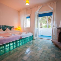 Отель B&B Residence L'isola che non c'è Фонтане-Бьянке комната для гостей фото 4