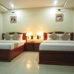 Отель Hoang Hotel Вьетнам, Хошимин - отзывы, цены и фото номеров - забронировать отель Hoang Hotel онлайн комната для гостей фото 5